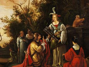 De ontmoeting van Rebecca en Eliëzer bij de bron