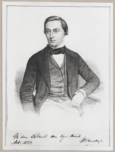 Portret van Willem Theodorus Rendorp van Marquette (1828-1857)