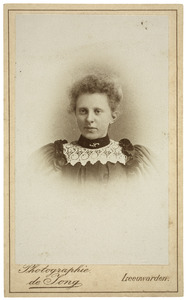 Portret van Antje van der Hem (1875-1922)