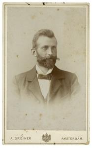 Portret van Felix van der Wissel (1864-1944)
