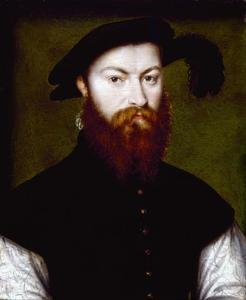 Portret van René de Batarnay, hertog van Bouchesse