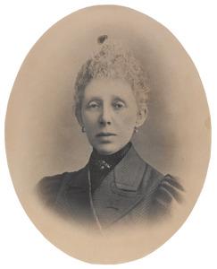 Portret van Margaretha van Rossen (1841-1899)