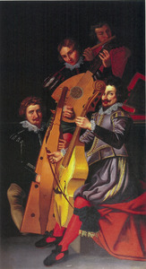Vier muzikanten