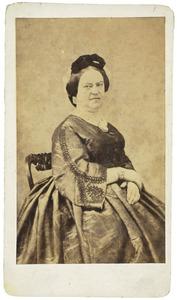 Portret van Agatha Petronella Hartsen (1814-1878)
