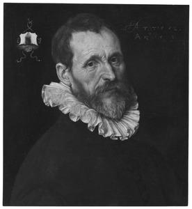 Portret van een man op 52-jarige leeftijd, mogelijk Jacob Jansz. Banninck