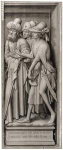 De cijnspenning: drie Farizeeën (de zogenaamde Cambrai-triptiek)