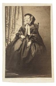 Portret van Jacoba Elisabeth van de Poll (1807-1882)