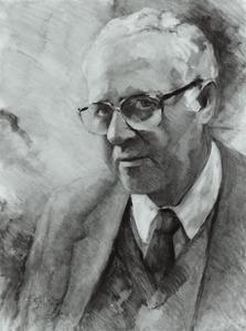 Portret van Jaap van der Sluijs Veer (1928- )