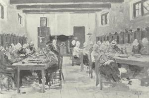 Voorstudie Oude mannen en vrouwen gasthuis, Katwijk aan Zee