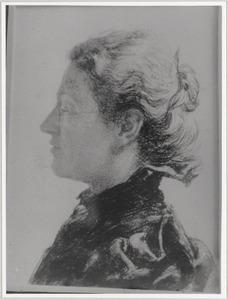 Portret van Maria Agatha Boddaert (1844-1914)