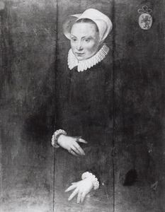 Portret van mogelijk Margreta Gerrits Verduyn (1546- )