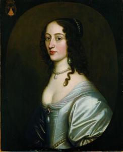 Portret van Maria Magdalena van Nassau-Siegen (1622-1647)