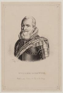 Portret van Willem Lodewijk van Nassau (1560-1620)