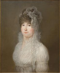 Portret van Cornelia Johanna van Nellesteyn (1782 -1842)