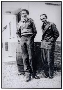 Portret van Dick Ket en Johan Mekkink