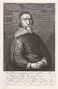 Portret van Johannes Mochinger, pastoor in Danzig (1603-1653)