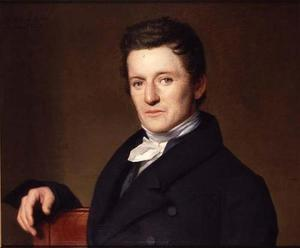 Portret van Joost Hiddes Halbertsma (1789-1869)