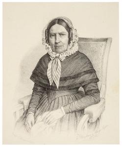 Portret van Petronella Johanna van Egmond (1776-1857)