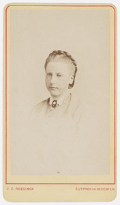 Portret van Anna Elisabeth Maria van der Wyck (1845-1928)