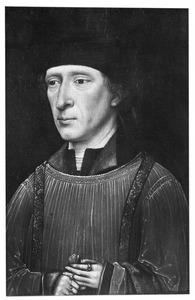 Portret van Hugo de Groot (1451-1509), kanunnik van de Hofkerk te Den Haag