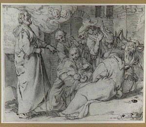 Aanbidding der herders (Lucas 2:15-18)