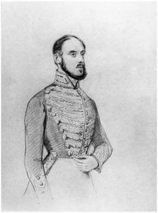 Portret van jonkheer Hendrik Steengracht van Oosterland (1808-1875)