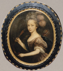 Portret van Alagonda Veldtman (1716-1766)