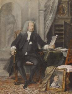 Portret van Jeronimus Tonneman (1687-1750)