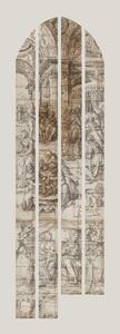 De geboorte van Johannes de Doper (carton 11)