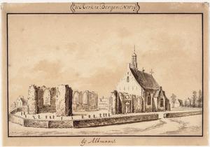 Kerk van Bergen, gezien vanuit het noord-noordoosten