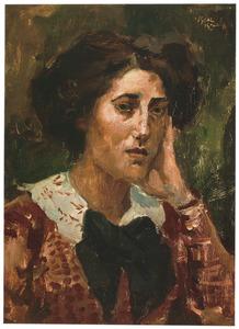 Portret van Juliette Polak (1884-1943)