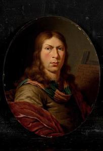 Portret van Jan van Mieris (1660-1690)