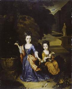 Dubbelportret van twee dochters van Francisco Lopes Suasso