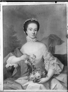 Portret van Hendrika Francoise Braets (1745-1777)