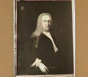 Portret van Engelbert Menthen (1703-1756), echtgenoot van Suzanna Cecilia Bartha Merens (1708-1783)