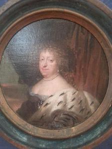 Portret van Sophia Amalia van Brunswijk-Lüneburg (1628-1685), echtgenote van koning Frederik III van Denemarken