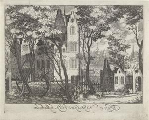 Het huis Kostverloren bij Amsterdam