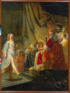 De dans van Salome voor Herodes