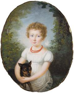 Portret van Cornelia Elisabeth Teding van Berkhout (1816-1887)