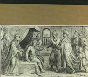De Heilige Mattheüs brengt de zoon van de Ethiopische koning tot leven