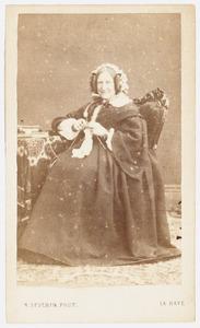 Portret van Cornelia Catharina Hodshon (1794-1871)