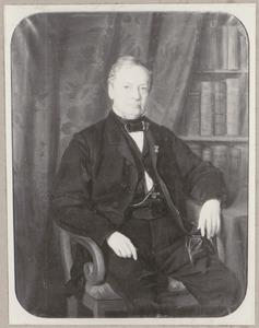 Portret van Adriaan Beeloo (1798-1878)