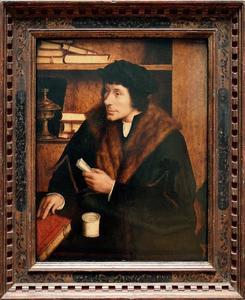 Portret van Peter Gilles (1486-1533)