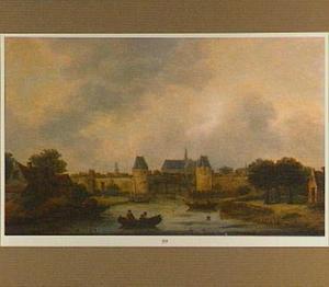 Gezicht op Haarlem vanuit het noord-oosten