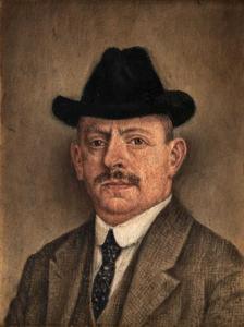 Zelfportret van Salomon (Sal) Meijer (1877-1965)