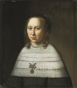 Portret van een 24-jarige vrouw