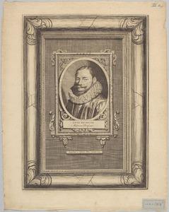 Portret van Otto Heurnius (1577-1652)