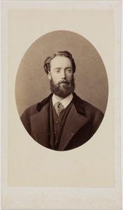 Portret van een man, mogelijk Nicolaas Adriaan Steengracht van Moyland (1834-1906)