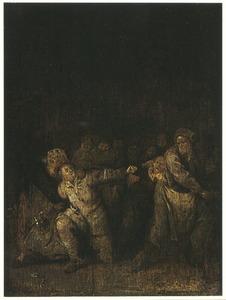 Vechtpartij in de herberg