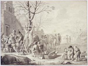 Het slachten van de os (de maand november)